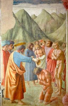 Masaccio : religion oil painting XII