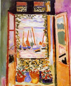 Henri Emile Benoit Matisse : Open Window, Collioure
