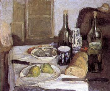 Henri Emile Benoit Matisse : still life with black knives