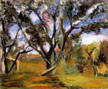 Henri Emile Benoit Matisse : the olive tree