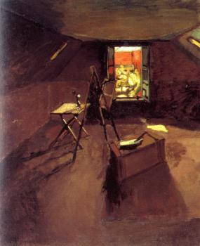 Henri Emile Benoit Matisse : studio under the eaves