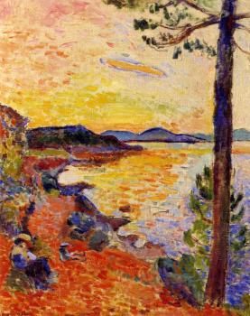 Henri Emile Benoit Matisse : The Gule of Saint-Tropez