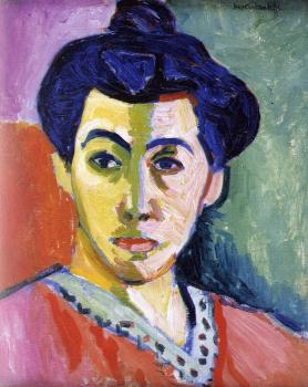 portrait of Mme matisse