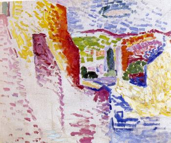 Henri Emile Benoit Matisse : view of collioure