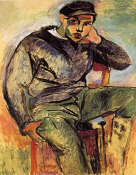 Henri Emile Benoit Matisse : the young sailor
