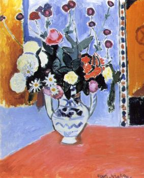 Henri Emile Benoit Matisse : vase with two handles