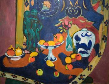 Henri Emile Benoit Matisse : still life with fruit