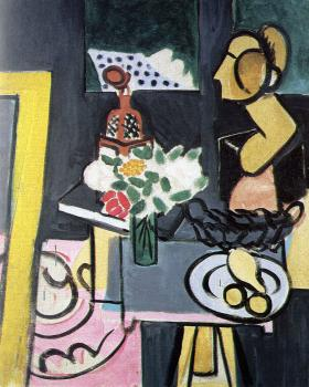 Henri Emile Benoit Matisse : still life with a plaster bust
