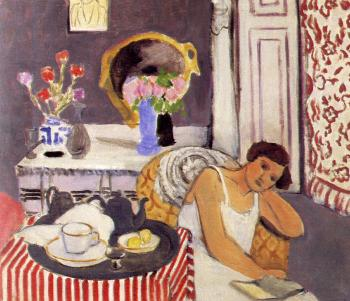 Henri Emile Benoit Matisse : the breakfast