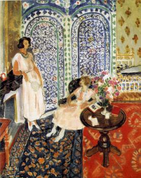 Henri Emile Benoit Matisse : the moorish screen