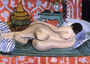Henri Emile Benoit Matisse : reclining nude seen from the back