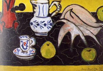 Henri Emile Benoit Matisse : still life with shell