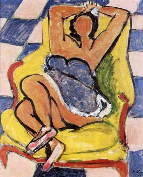 Henri Emile Benoit Matisse : dancer in repose