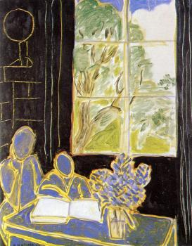 Henri Emile Benoit Matisse : the silence living in houses