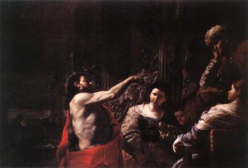 St John The Baptist Before Herod