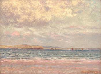Maxime Maufra : Evening, Margat Beach