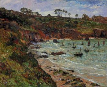 Maxime Maufra : Fishing for sprats in Winter at Douarnenez