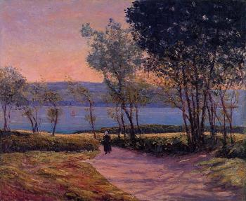Maxime Maufra : Landscape by the Water