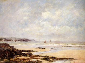 Maxime Maufra : Low Tide at Douarnenez