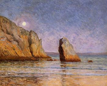 Maxime Maufra : Moonrise, Bay of Douarnenez