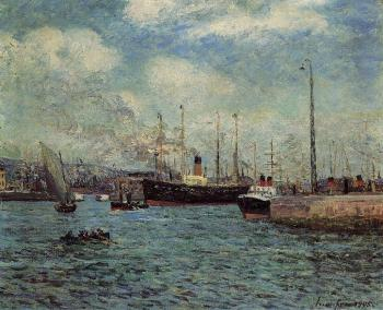 Maxime Maufra : Port of Le Havre