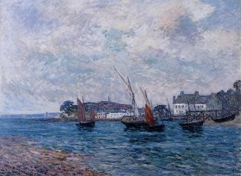 Maxime Maufra : Reentering Port at Douarnenez