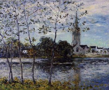 Maxime Maufra : The Banks of the Pond at Rosporden, Finistere