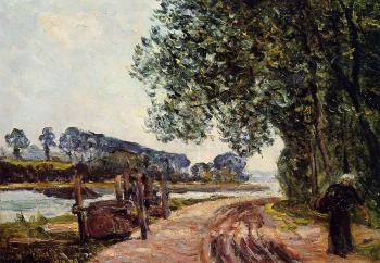 Maxime Maufra : The Banks of the River Auray, Brittany