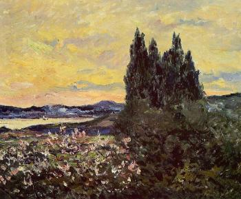 Maxime Maufra : The Bay of Saint-Tropez, Evening