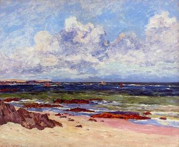 Maxime Maufra : The Coast at Fort Penthievre, Quiberon Peninsula