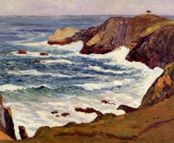 Maxime Maufra : The Cove at Cape Suzon