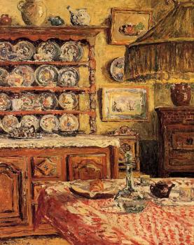 Maxime Maufra : The Dining Room after Lunch