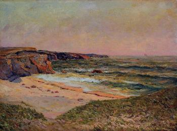 Maxime Maufra : The Dunes of Port Blanc near Ile de Quiberon