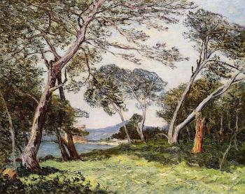 Maxime Maufra : The Pines of the Ile St Morah