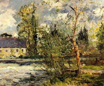 Maxime Maufra : The Ponce Paper Factory on the Edge of the Sathe Woods