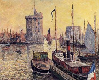 Maxime Maufra : The Port of La Rochelle at Twilight