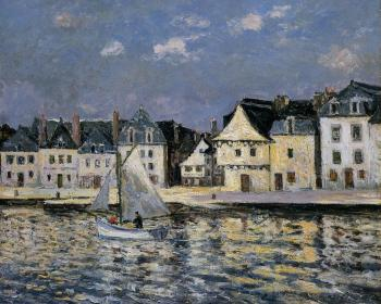 Maxime Maufra : The Port of Saint Goustan, Brittany