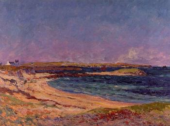Maxime Maufra : The Portivy Beach, Quiberon Peninsula