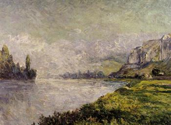 Maxime Maufra : The Retreating Fog, Morning, Les Andelys