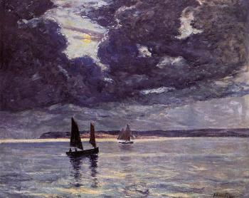 Maxime Maufra : The Return of the Fishing Boats