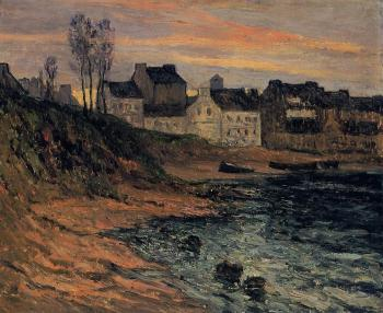 Maxime Maufra : Twilight, Winter, Douarnenez