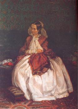 Portrait of Frau Maercker