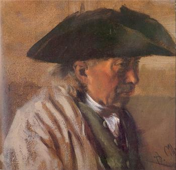 Peasant with a Three-Cornered Hat