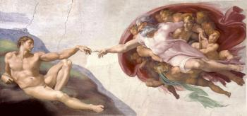 Michelangelo : The Creation of Man