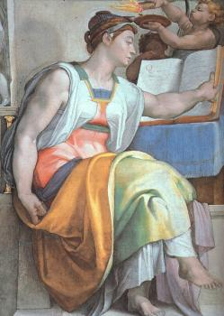 Michelangelo : The Erythraean Sibyl