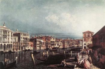 Michele Marieschi : The Grand Canal at San Geremia