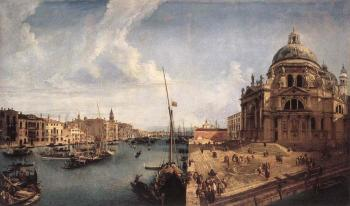 Michele Marieschi : The Grand Canal near the Salute