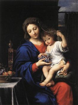 Pierre Mignard : The Virgin of the Grapes