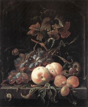 Abraham Mignon : Still-Life with Fruits