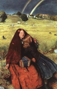 Sir John Everett Millais : The Blind Girl